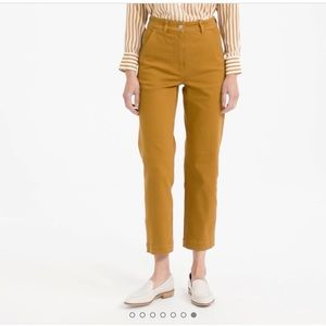 Everlane Straight Crop Pants size 00
